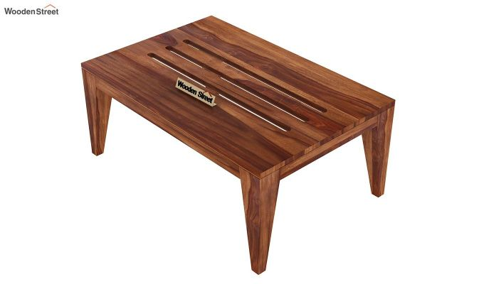 Hugo Tea Table (Teak Finish)-4