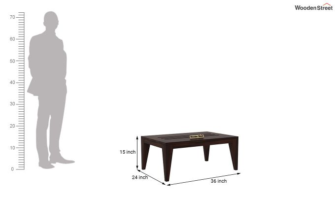 Hugo Tea Table (Walnut Finish)-5