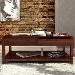 Hutson Coffee Table (Mahogany Finish)