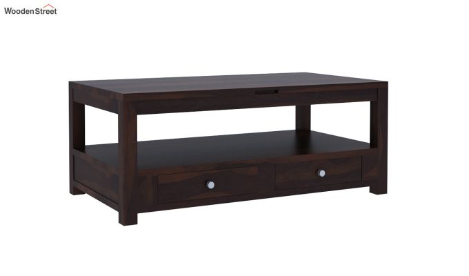 Jack Coffee Table with Lift Top (Walnut Finish)-3