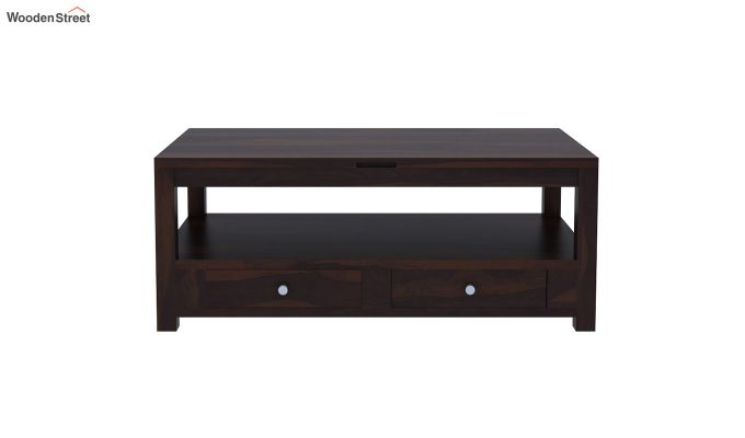 Jack Coffee Table with Lift Top (Walnut Finish)-4