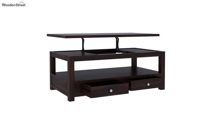 Jack Coffee Table with Lift Top (Walnut Finish)-5