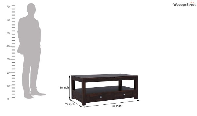 Jack Coffee Table with Lift Top (Walnut Finish)-6