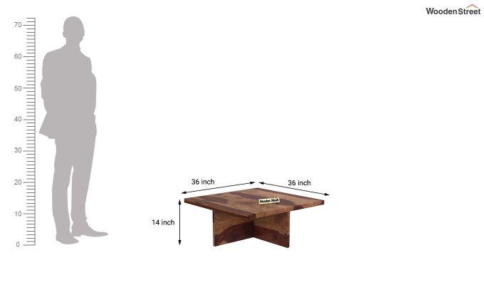 Juan Center Table (Teak Finish)-11