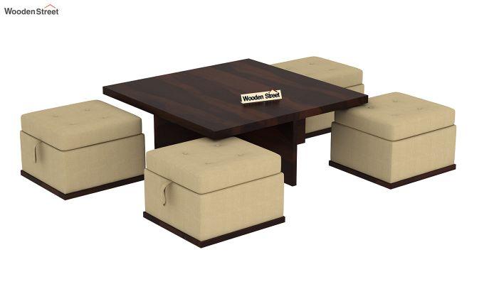 Juan Center Table (Walnut Finish)-5