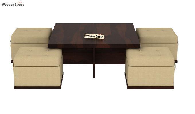 Juan Center Table (Walnut Finish)-6