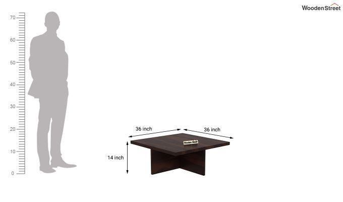 Juan Center Table (Walnut Finish)-11