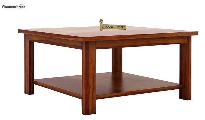 Lanbro Tea Table (Honey Finish)-3