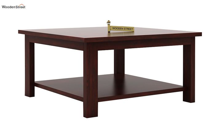 Lanbro Tea Table (Mahogany Finish)-3