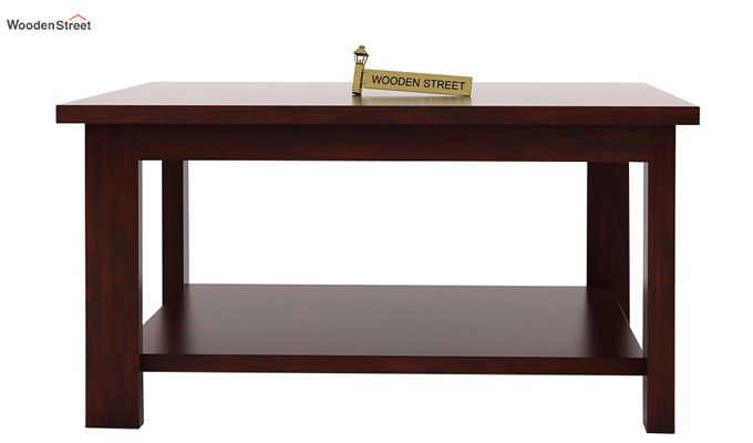 Lanbro Tea Table (Mahogany Finish)-4