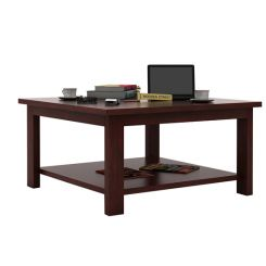 Lanbro Tea Table (Mahogany Finish)