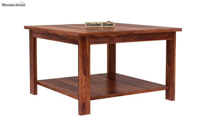 Lanbro Tea Table (Honey Finish)-2