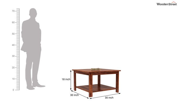 Lanbro Tea Table (Honey Finish)-4