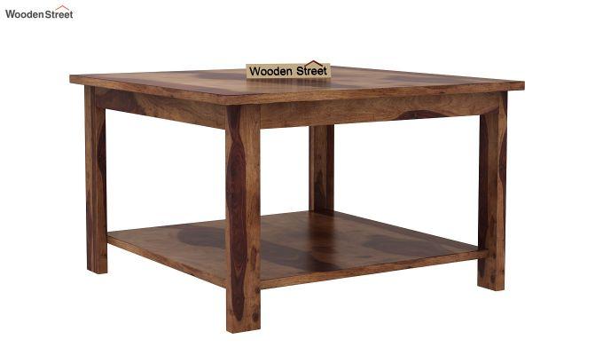 Lanbro Tea Table (Teak Finish)-2