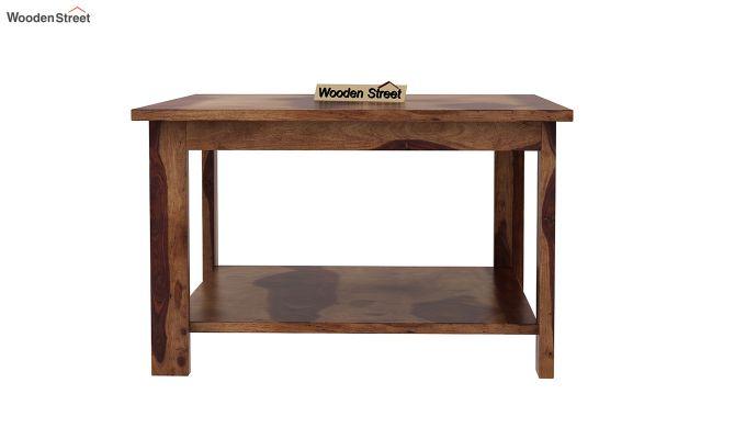 Lanbro Tea Table (Teak Finish)-3