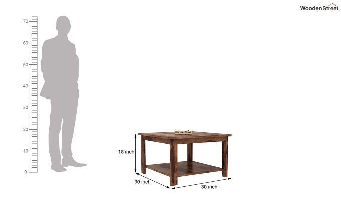 Lanbro Tea Table (Teak Finish)-4