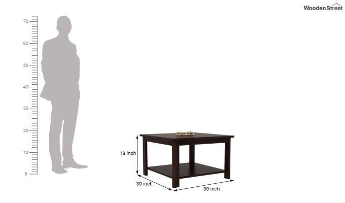 Lanbro Tea Table (Walnut Finish)-4
