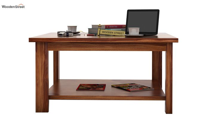 Lanbro Tea Table (Teak Finish)-3