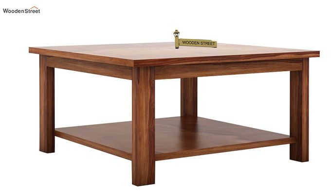Lanbro Tea Table (Teak Finish)-4