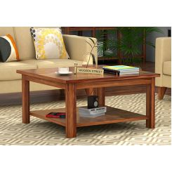 Lanbro Tea Table (Teak Finish)