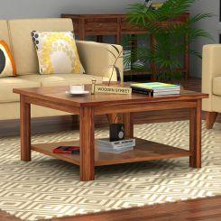 Lanbro Tea Table (Teak Finish)
