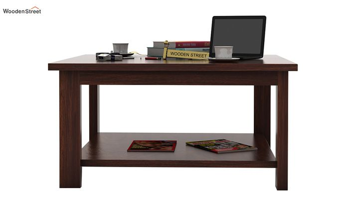 Lanbro Tea Table (Walnut Finish)-2