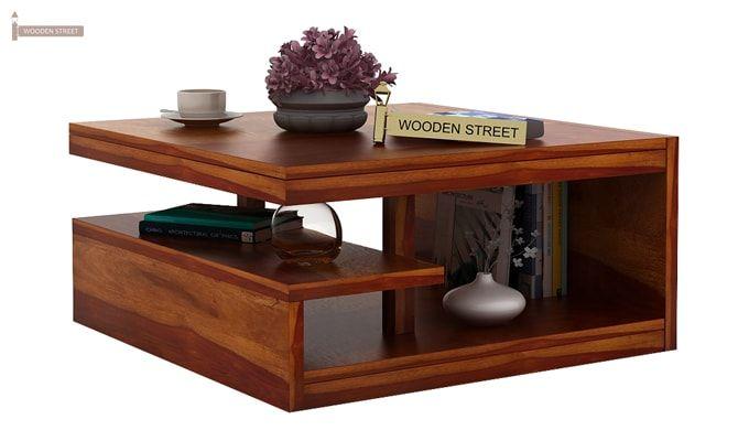 Liddle Tea Table (Honey Finish)-1