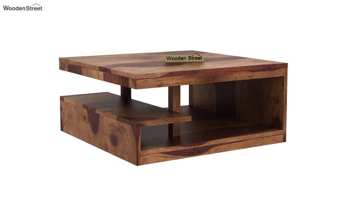 Liddle Tea Table (Teak Finish)-2
