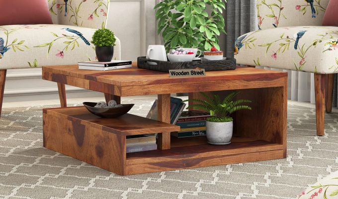 Liddle Tea Table (Teak Finish)-1