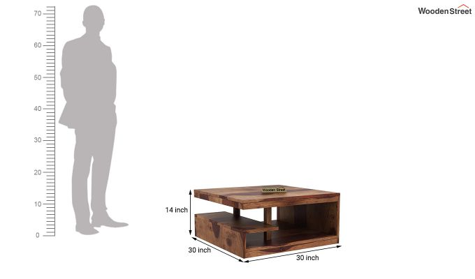 Liddle Tea Table (Teak Finish)-4