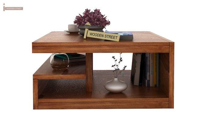 Liddle Tea Table (Teak Finish)-3