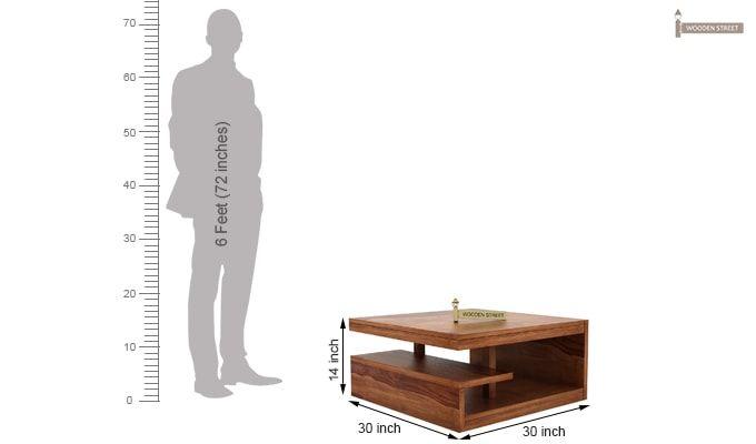 Liddle Tea Table (Teak Finish)-6