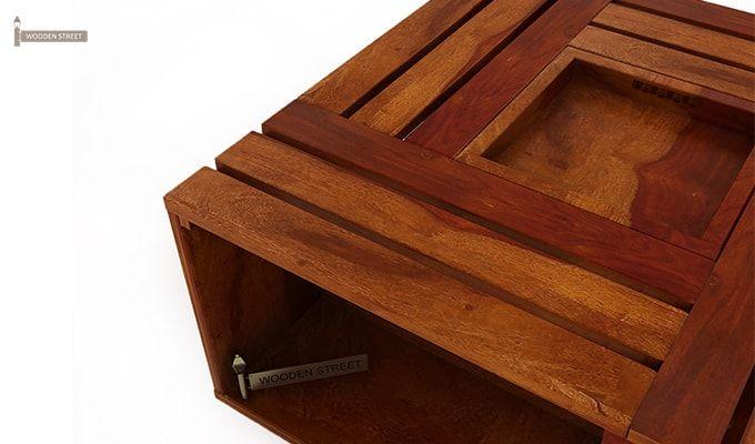 Lynet Coffee Table (Honey Finish)-3