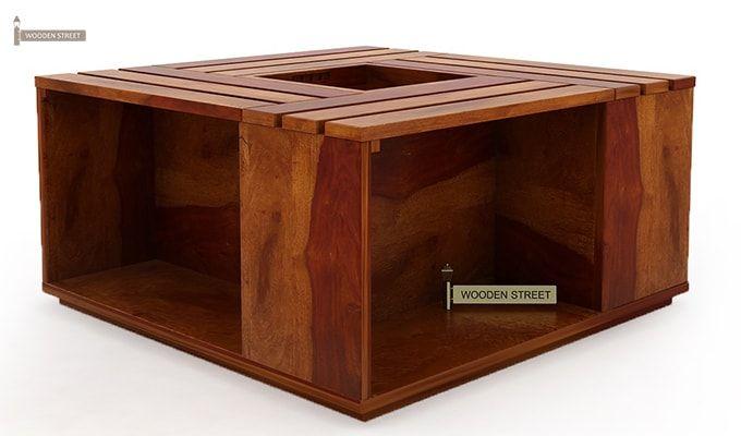 Lynet Coffee Table (Honey Finish)-8