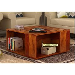 Lynet Coffee Table (Honey Finish)