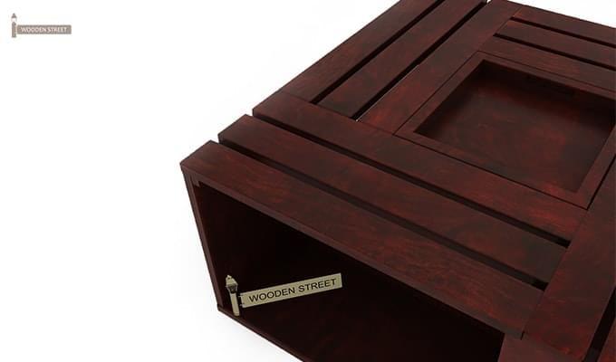 Lynet Coffee Table (Mahogany Finish)-5