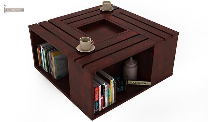Lynet Coffee Table (Mahogany Finish)-4