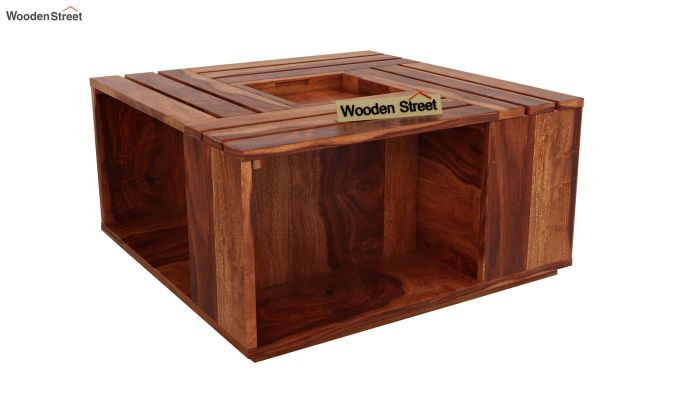 Lynet Coffee Table (Honey Finish)-3