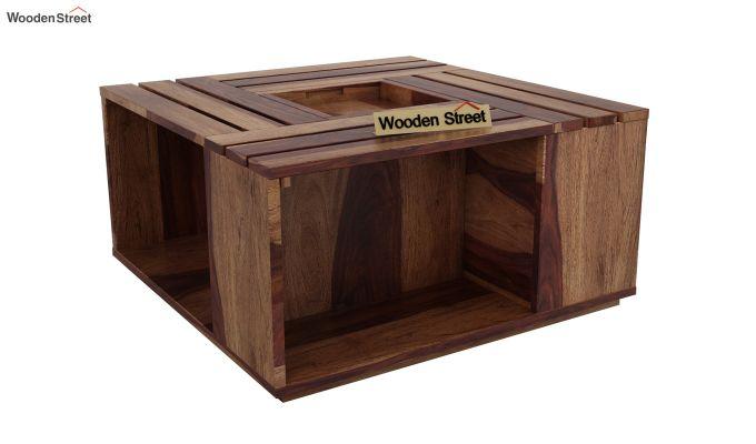 Lynet Coffee Table (Teak Finish)-3
