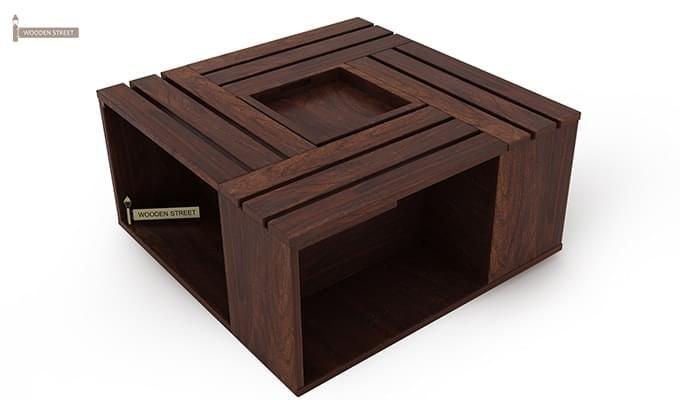 Lynet Coffee Table (Walnut Finish)-4