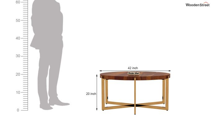 Marigold Coffee Table (Honey Finish)-5