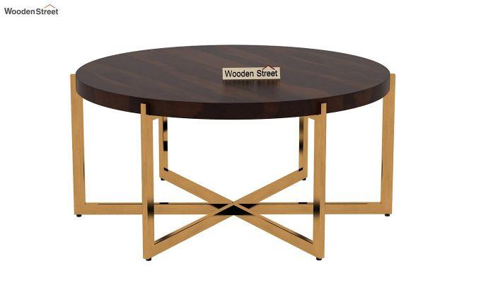 Marigold Coffee Table (Walnut Finish)-3