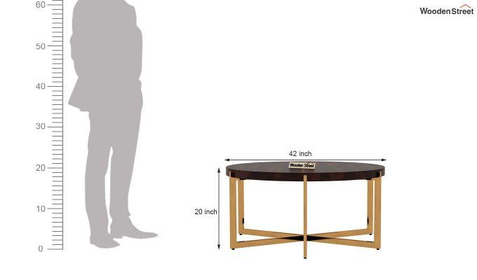 Marigold Coffee Table (Walnut Finish)-5