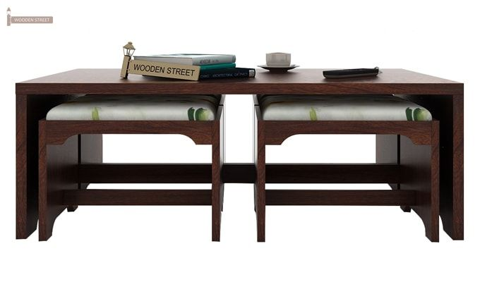 Mel Tea Table (Walnut Finish)-4
