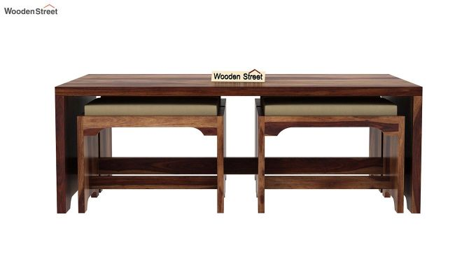 Mel Tea Table (Teak Finish)-4