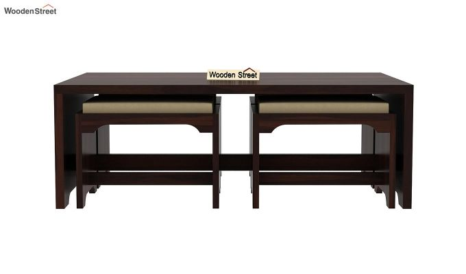 Mel Tea Table (Walnut Finish)-4