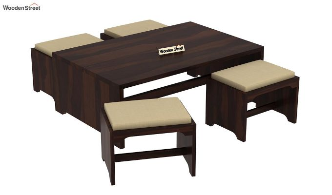 Mel Tea Table (Walnut Finish)-5