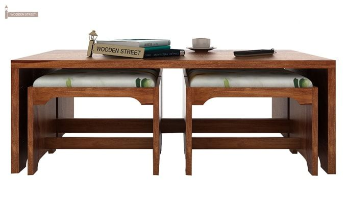 Mel Tea Table (Teak Finish)-3