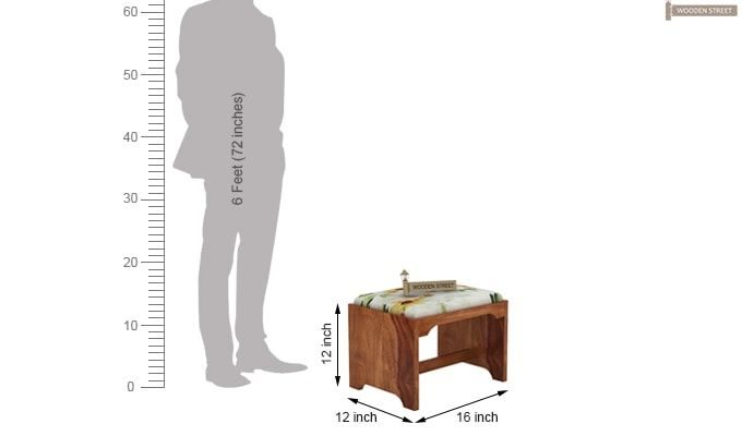 Mel Tea Table (Teak Finish)-9