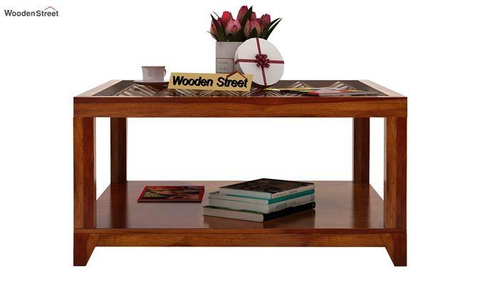 Morse Coffee table (Honey Finish)-3